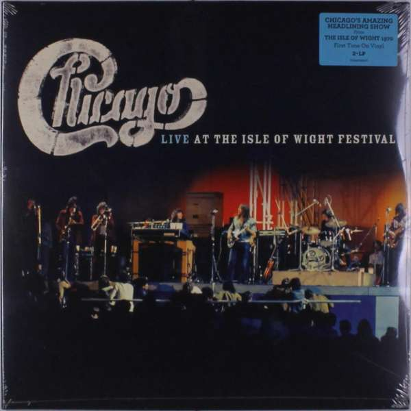 Vinyl CHICAGO - LIVE AT THE ISLE OF WIGHT FESTIVAL
