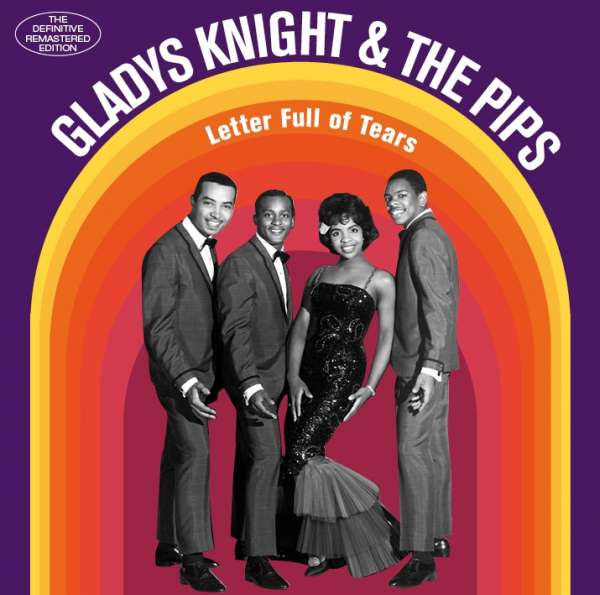 CD KNIGHT, GLADYS & THE PIPS - LETTER FULL OF TEARS