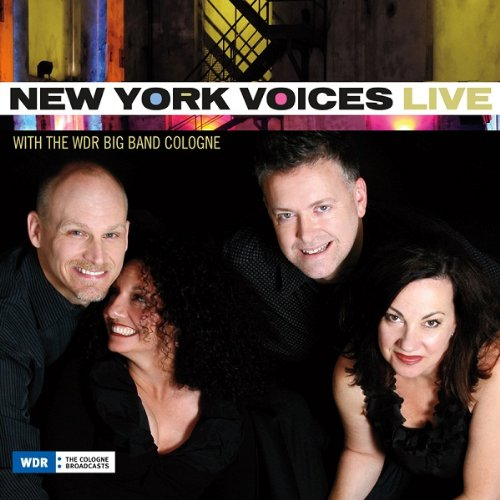 CD NEW YORK VOICES - LIVE WITH THE WDR BIG BAND COLOGNE
