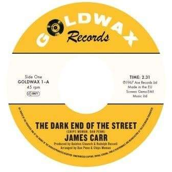 Vinyl CARR, JAMES - 7-DARK END OF THE STREET