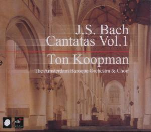 CD BACH, J.S. - COMPLETE CANTATAS