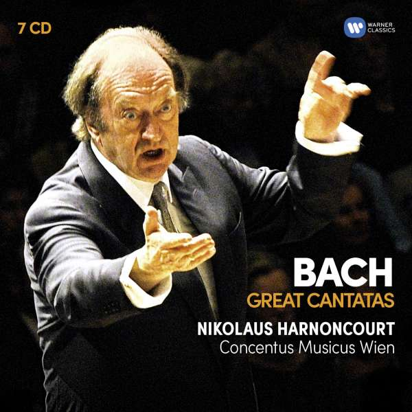 CD HARNONCOURT, NIKOLAUS & GUSTAV LEONHARDT - BACH: GREAT CANTATAS
