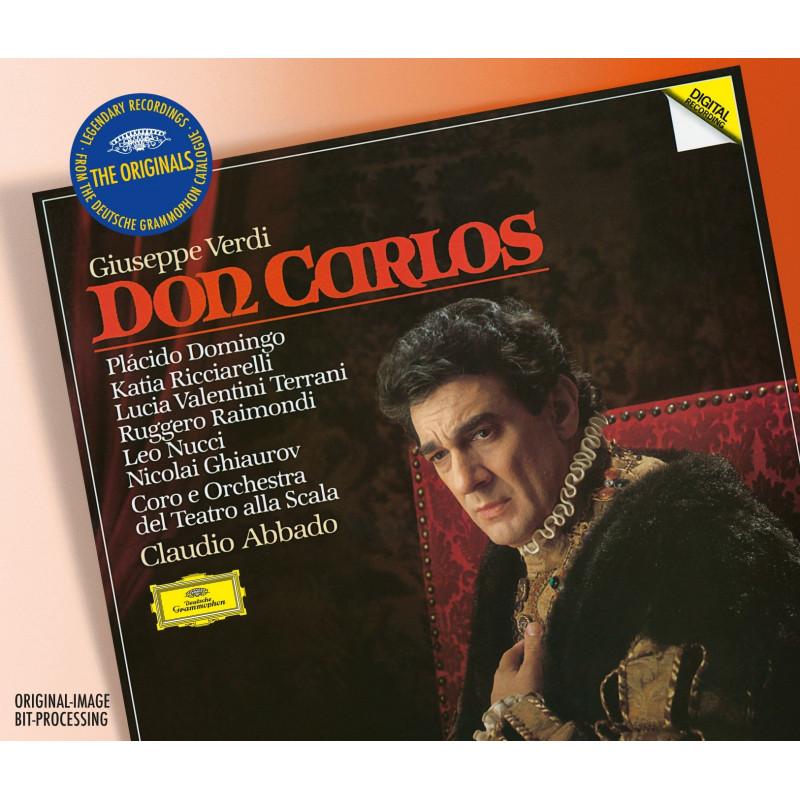 CD DOMINGO/RICCIARELLI/ABBADO - VERDI: DON CARLOS