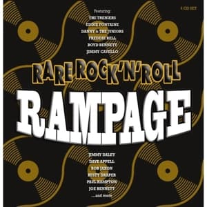 CD V/A - RARE ROCK'N'ROLL RAMPAGE