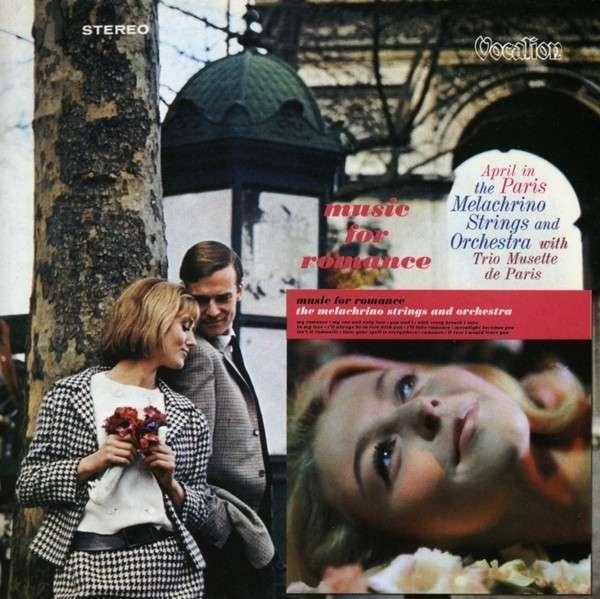 CD MELACHRINO, GEORGE - APRIL IN PARIS & MUSIC FOR ROMANCE