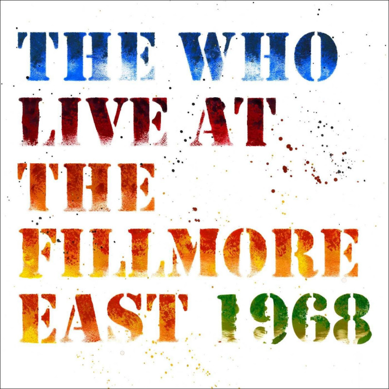 CD WHO THE - LIVE AT THE FILLMORE