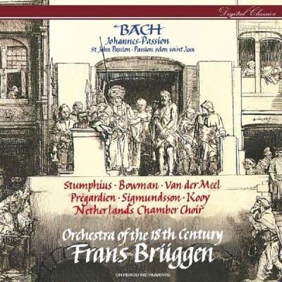 CD BACH, J.S. - JOHANNES-PASSION/ST JOHN PASSION BWV 245