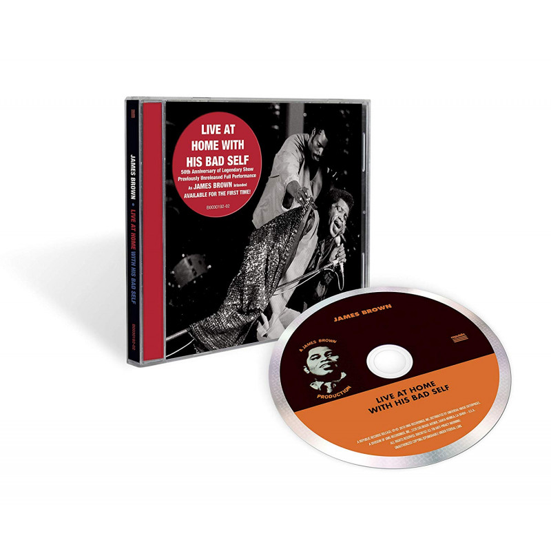 CD BROWN JAMES - LIVE AT HOME WITH HIS BAD SELF