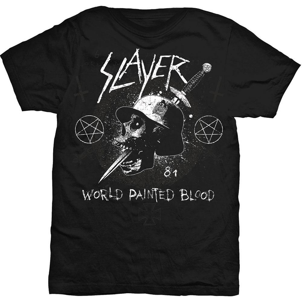 Slayer - Tričko Dagger Skull - Muž, Unisex, Čierna, S