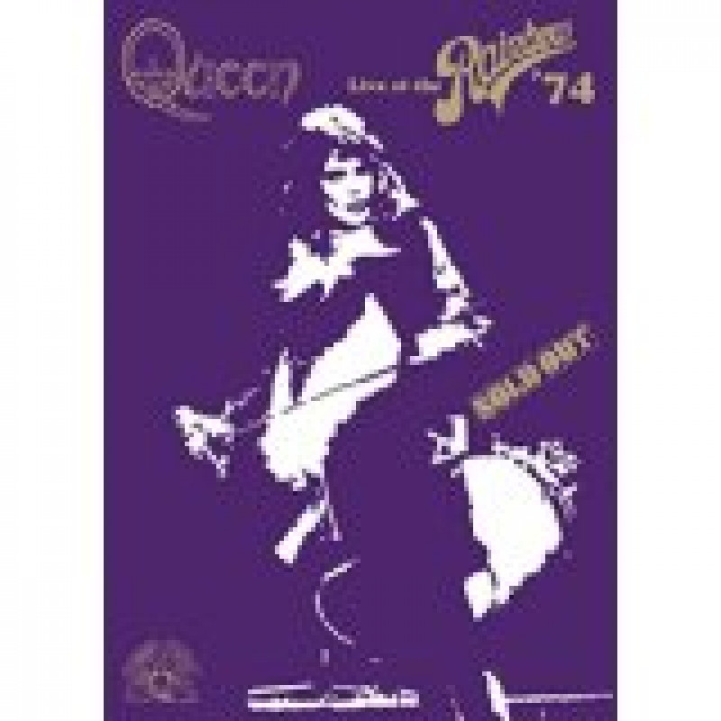 Queen - DVD LIVE AT THE RAINBOW