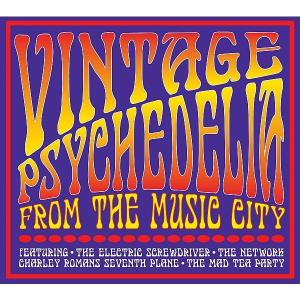 CD V/A - VINTAGE PSYCHEDELIA FROM MUSIC CITY
