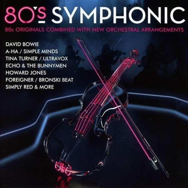 CD VARIOUS ARTISTS - 80S SYMPHONIC