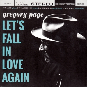 CD PAGE, GREGORY - LET'S FALL IN LOVE AGAIN