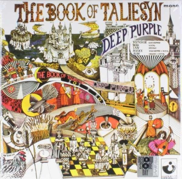 Deep Purple - Vinyl RSD - BOOK OF TALIESYN (MONO/WHITE VINYL)