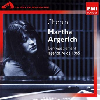CD ARGERICH, MARTHA - RECITAL 1965