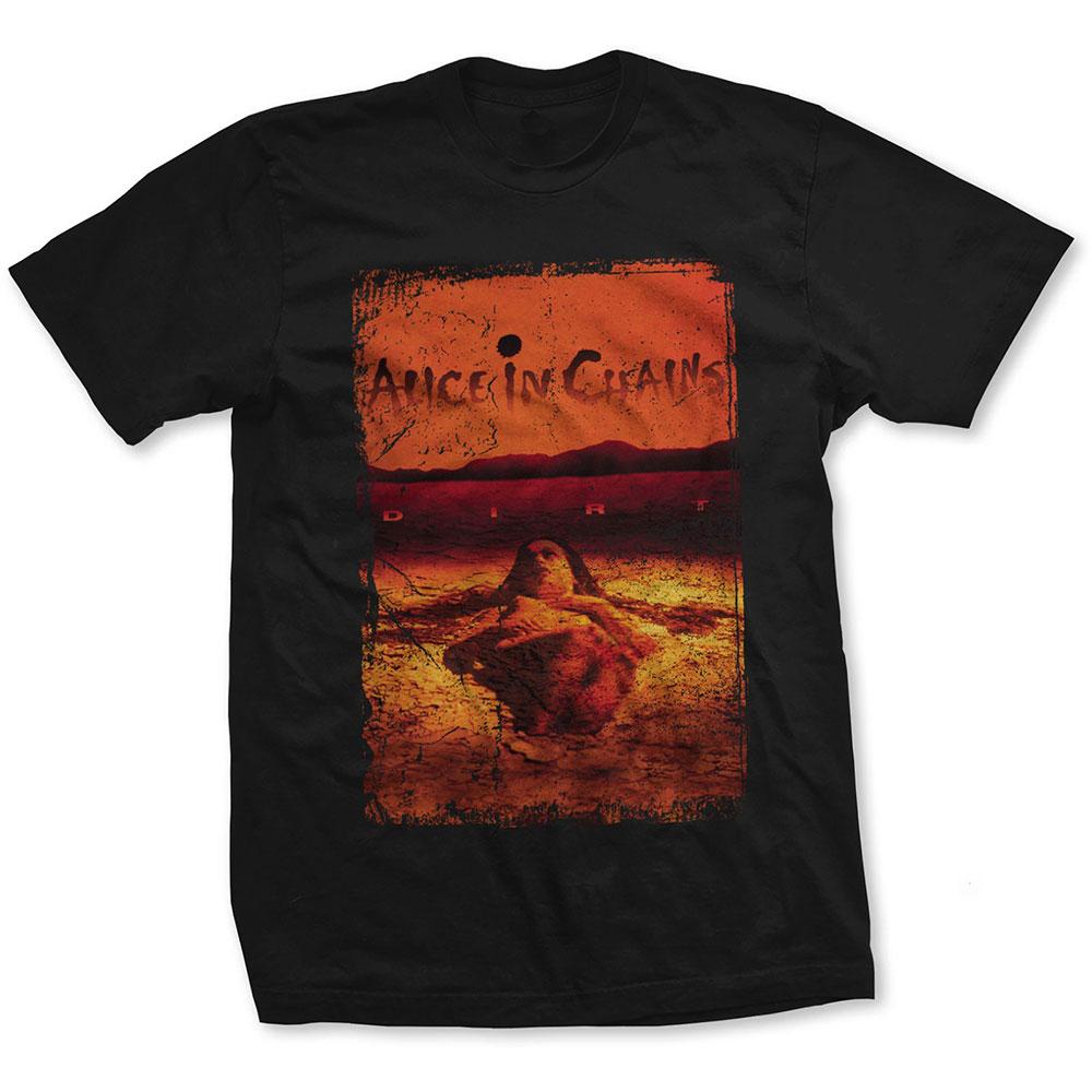 Alice In Chains - Tričko Dirt Album Cover - Muž, Unisex, Čierna, XXL