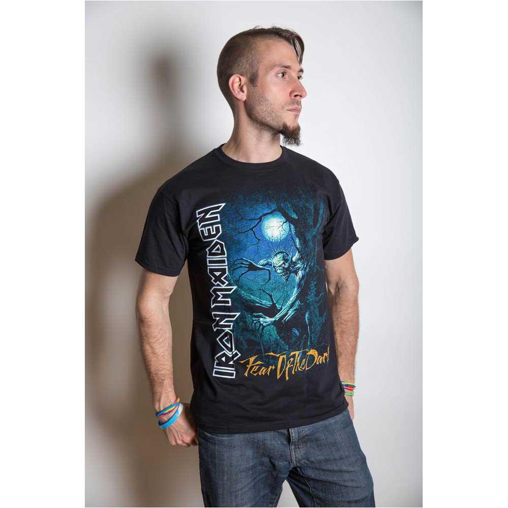 Iron Maiden - Tričko Fear of the Dark Tree Sprite - Muž, Unisex, Čierna, S