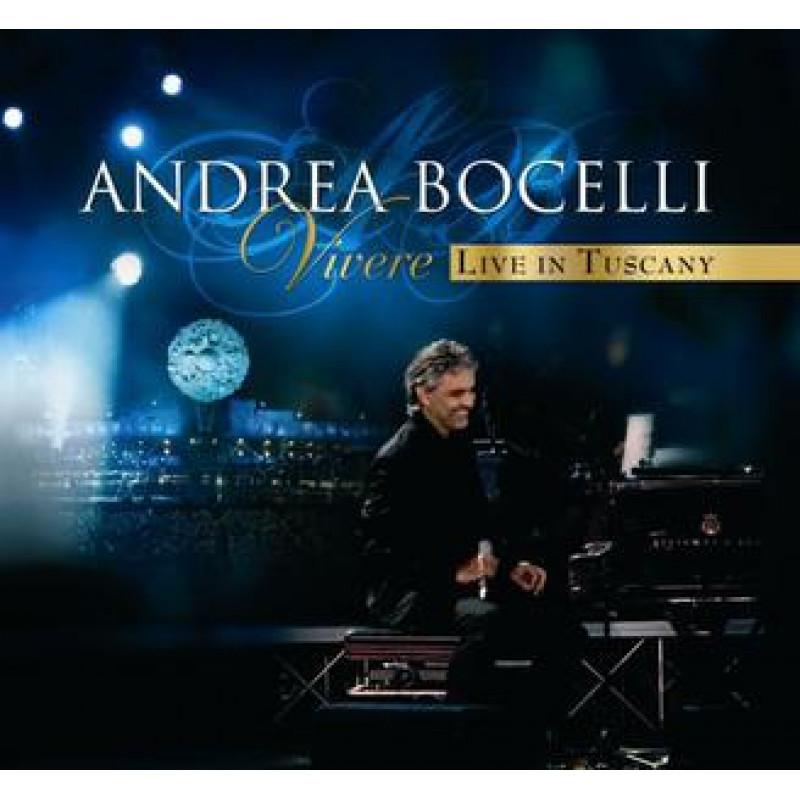 ANDREA BOCELLI - Blu-ray VIVERE - LIVE IN TUSCANY