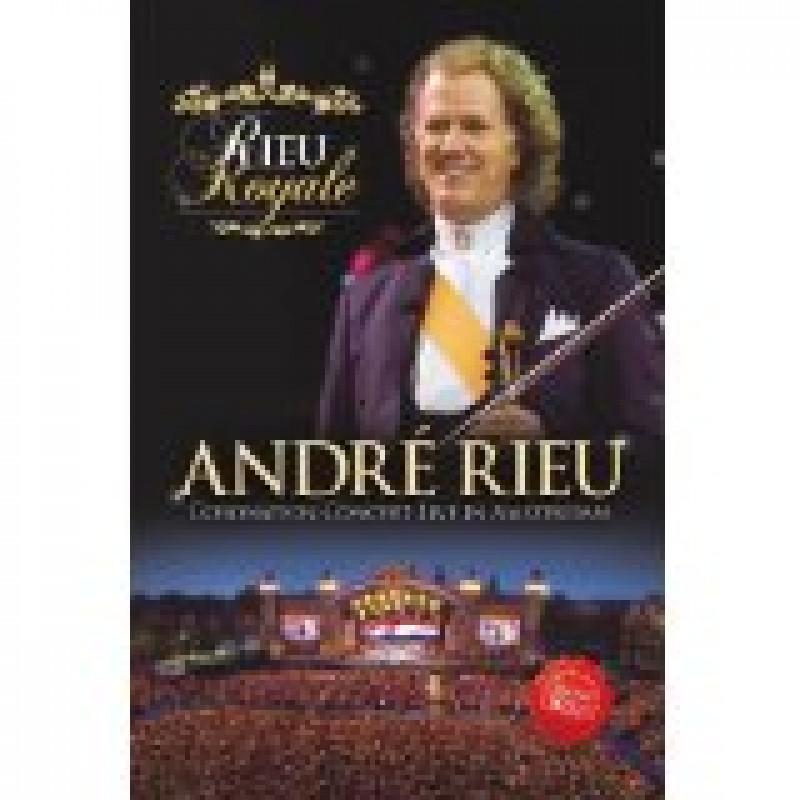 DVD RIEU ANDRE - RIEU ROYALE