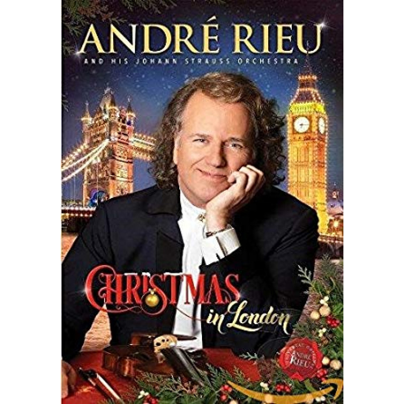 DVD RIEU ANDRE - CHRISTMAS IN LONDON