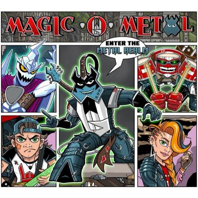 CD MAGIC O METAL - ENTER THE METAL REALM