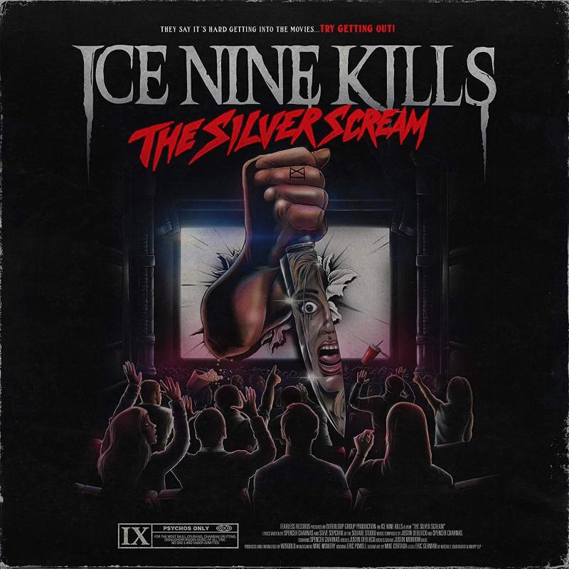 CD ICE NINE KILLS - THE SILVER SCREAM
