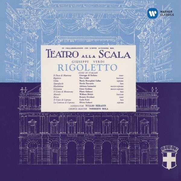CD CALLAS, MARIA/ PHILHARMONIA ORCHESTRA/TULLIO SERAFIN - VERDI: RIGOLETTO (1955)