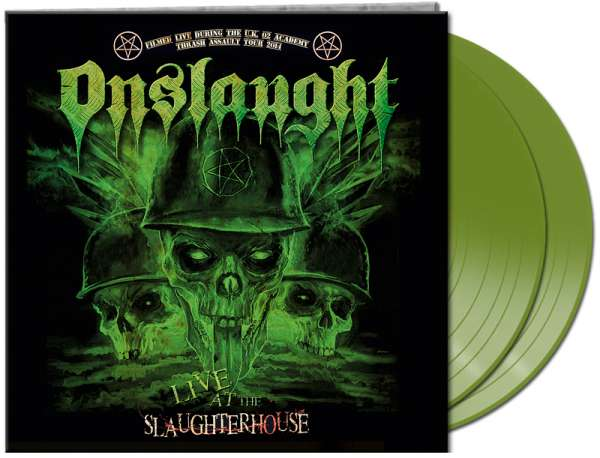 Onslaught - Vinyl LIVE AT THE SLAUGHTERHOUSE
