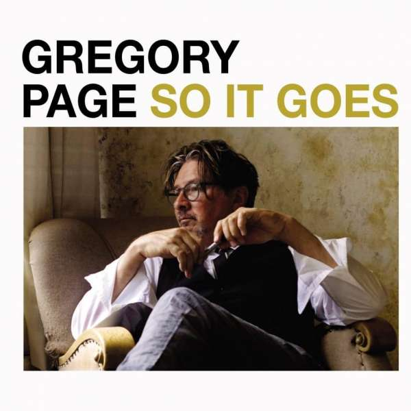 CD PAGE, GREGORY - SO IT GOES