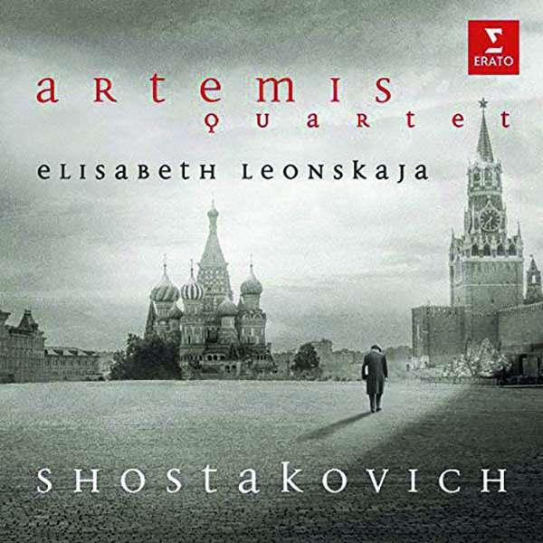 CD ARTEMIS QUARTET/LEONSKAJA - SHOSTAKOVICH: STRING QUARTET NO. 5 IN B FLAT MAJOR, OP. 92, STRING QUARTET NO. 7, OP. 108, PIANO QUINTET IN G MINOR, OP. 57
