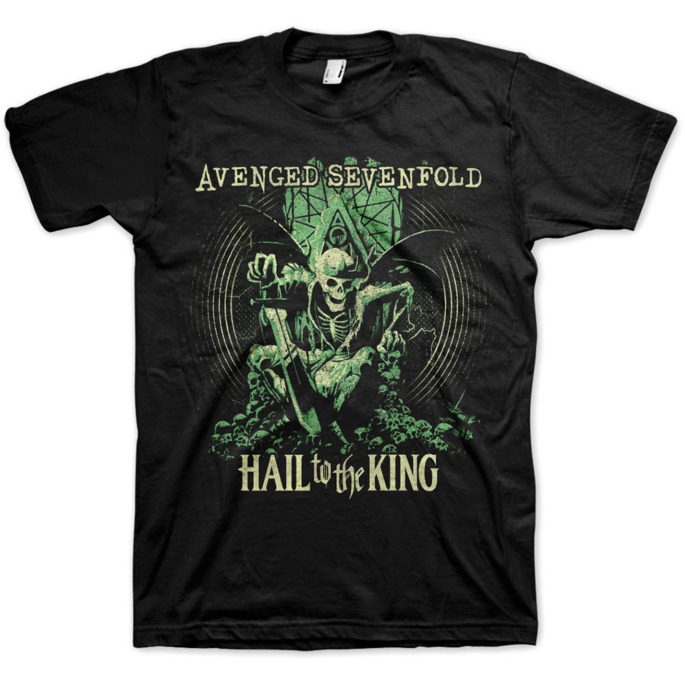 Avenged Sevenfold A7X - Tričko Hail to the King En Vie - Muž, Unisex, Čierna, S
