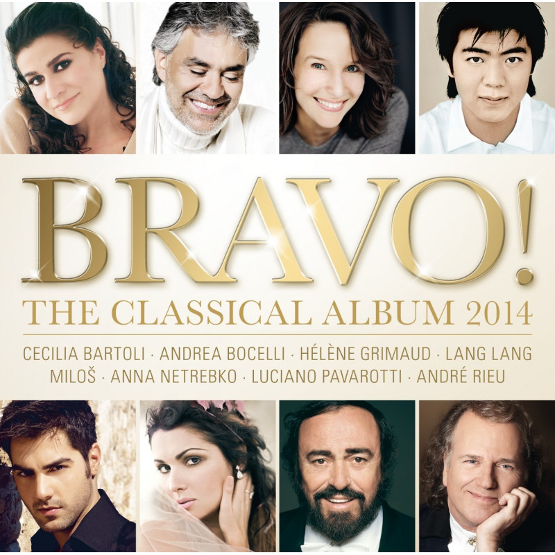 CD RUZNI KLASIKA - BRAVO! - THE CLASSICAL ALBUM 2014