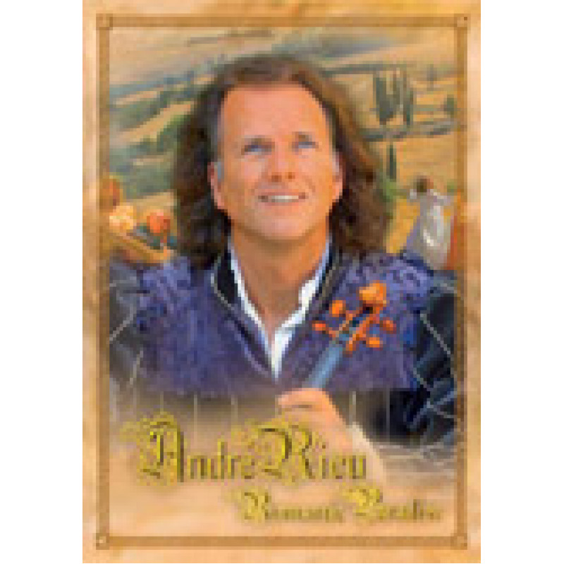 DVD RIEU ANDRE - ROMANTIC PARADISE