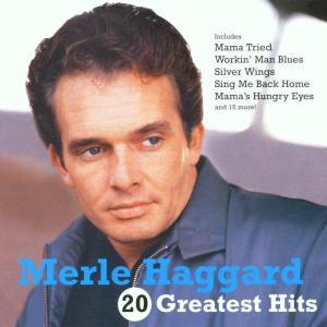 CD HAGGARD MERLE - 20 GREATEST HITS
