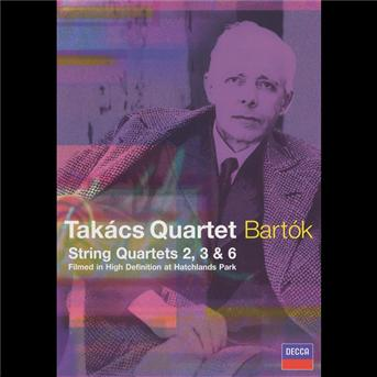 DVD TAKACS QUARTETT - KVARTETY SMYCCOVE 2,3,4,6