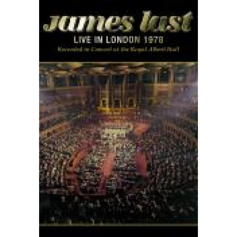 DVD LAST JAMES - LIVE AT ROYAL ALBERT HALL