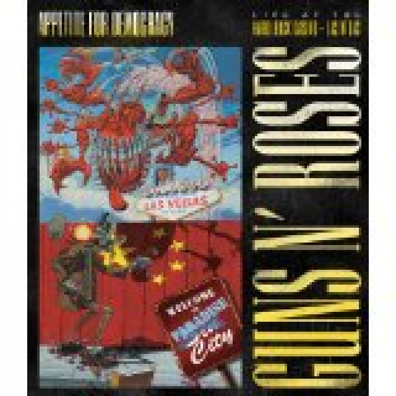 Guns N' Roses - Blu-ray GUNS N'ROSES - LIVE AT THE HARD ROCK