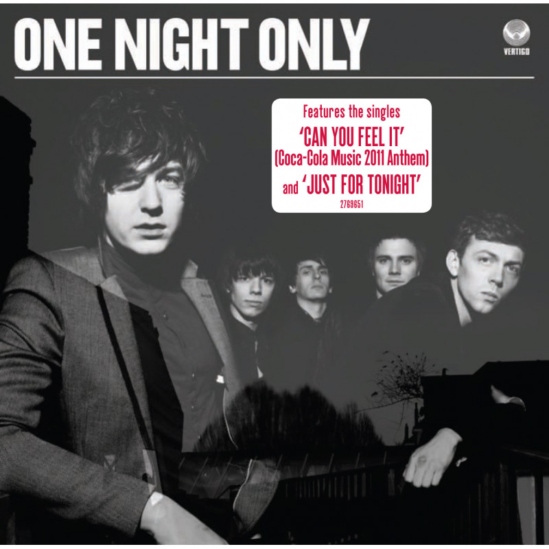 CD ONE NIGHT ONLY - ONE NIGHT ONLY