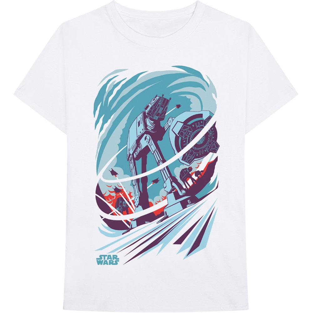 Star Wars - Tričko AT-AT Archetype - Muž, Unisex, Biela, S