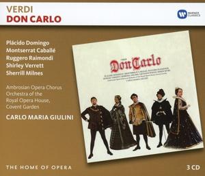 CD GIULINI, CARLO MARIA - VERDI: DON CARLO