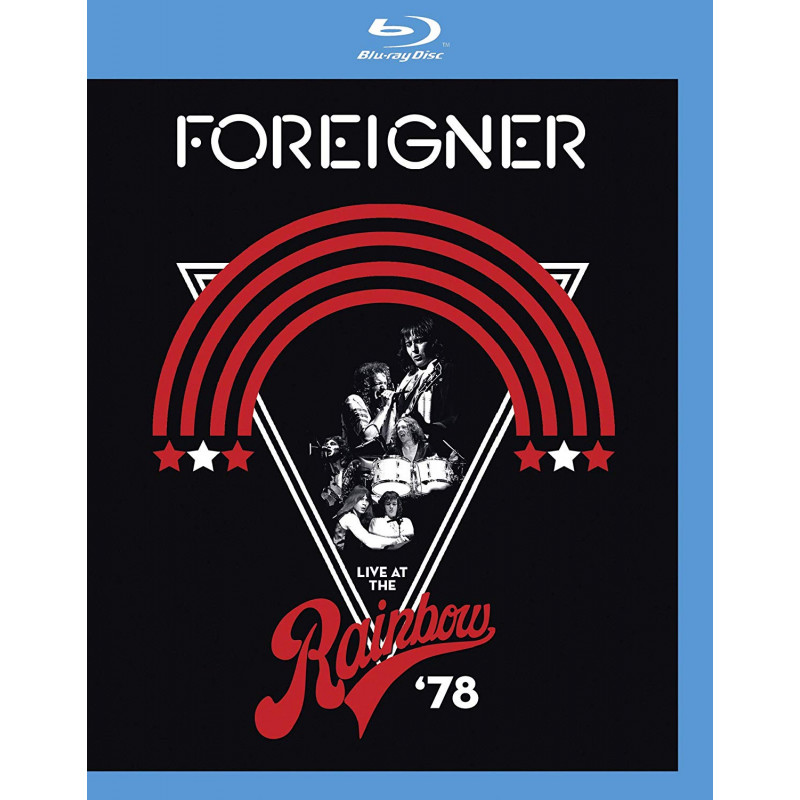 DVD FOREIGNER - LIVE AT THE RAINBOW '78/CD