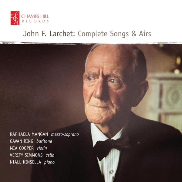CD KINSELLA, NIALL - JOHN F. LARCHET - COMPLETE SONGS & AIRS