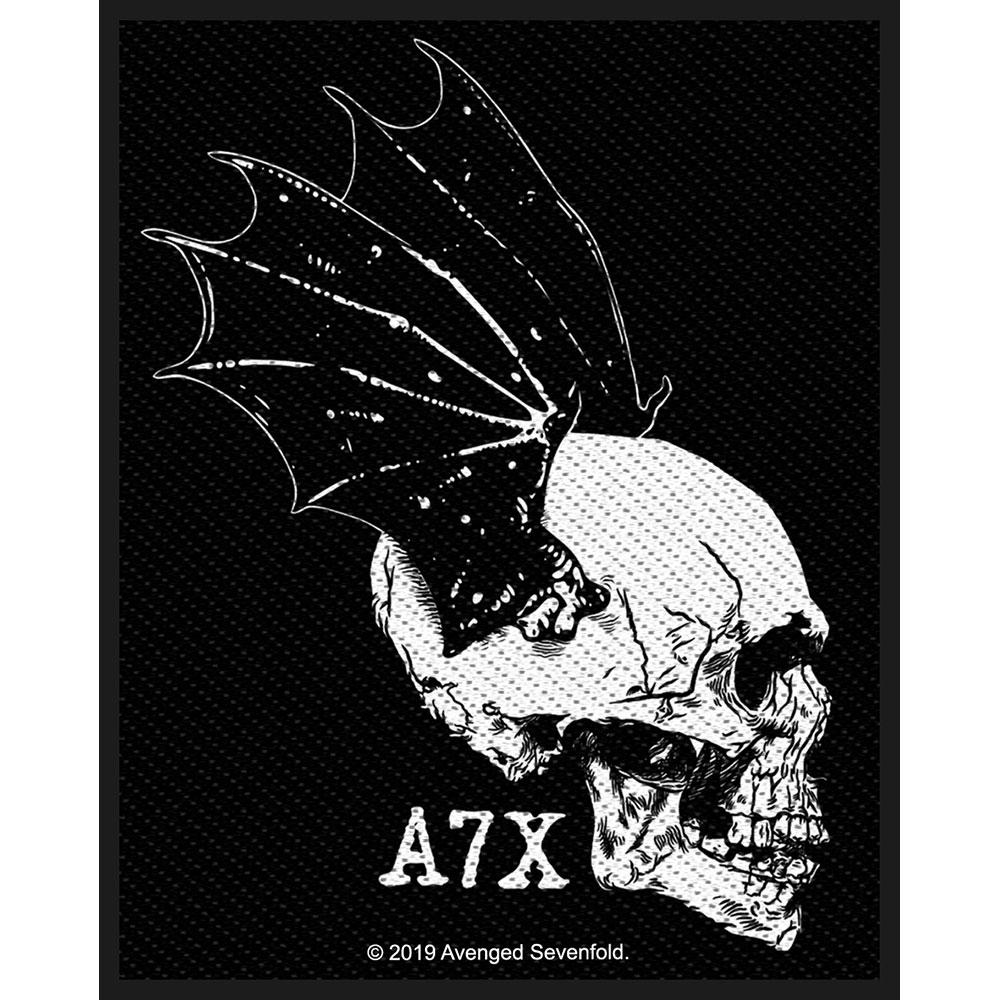Avenged Sevenfold A7X - Nažehlovačka Skull Profile