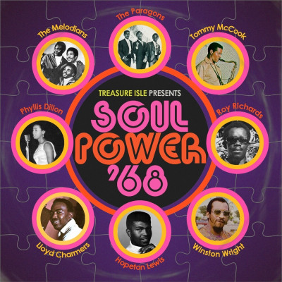 CD V/A - SOUL POWER '68