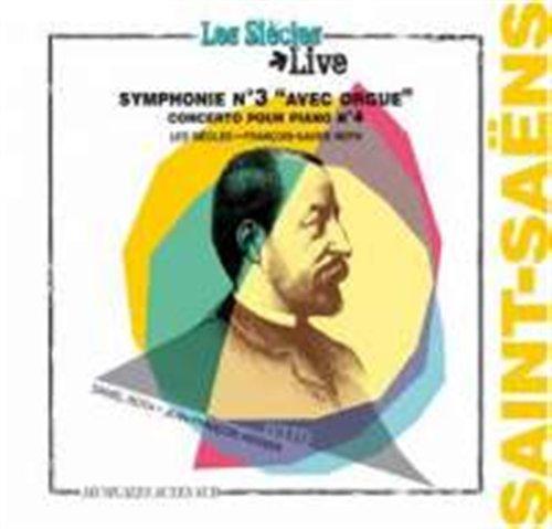 CD SAINT-SAENS, C. - SYMPHONY NO.3/PIANO CONCERTO NO.4