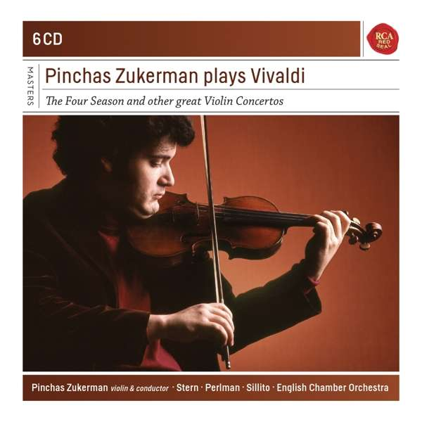 CD ZUKERMAN, PINCHAS - Pinchas Zukerman Plays Vivaldi