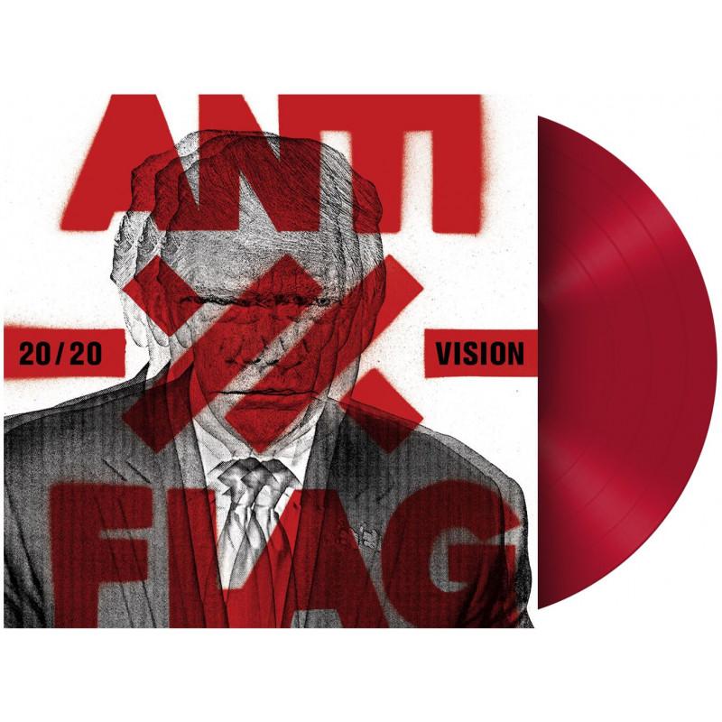 Anti-Flag - Vinyl 20/20 VISION (Red Vinyl)