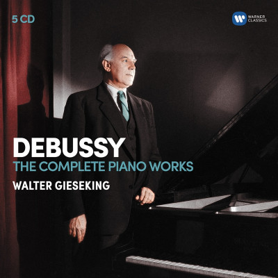 CD GIESEKING, WALTER - DEBUSSY: THE COMPLETE PIANO WORKS