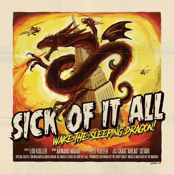 CD Sick of It All - Wake the Sleeping Dragon!