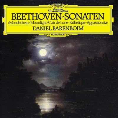 CD BARENBOIM DANIEL - SONATY PRO KLAVIR